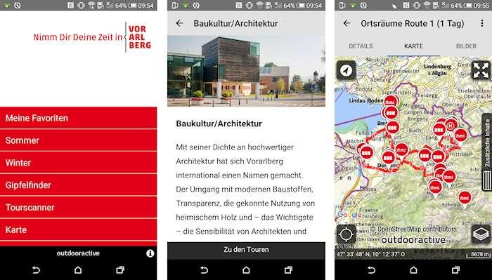 Vorarlberg App Urlaub und Freizeit (c) Vorarlberg Tourismus GmbH